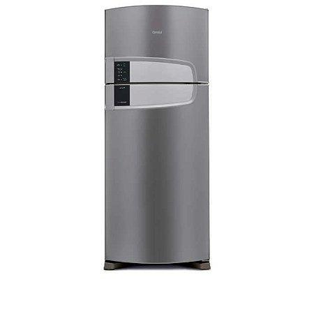 Geladeira Consul Frost Free Duplex Inox com Filtro Bem Estar CRM51 405 litros