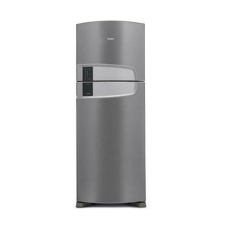 Geladeira Consul Frost Free Duplex Inox com Filtro Bem Estar CRM55 437 litros