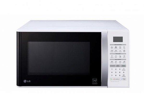 Microondas LG Easy Clean 30 L Branco MS3052RA