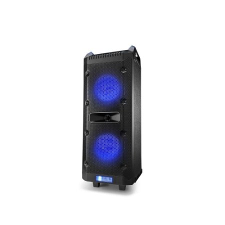 Caixa Amplificada Multilaser Party Speaker 300W RMS Bluetooth FM Preta - SP290