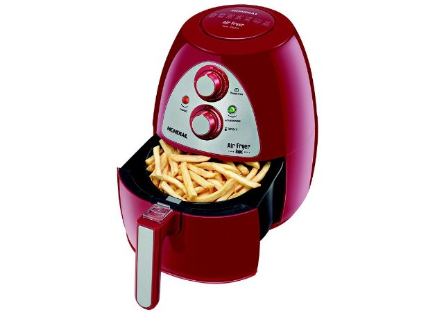 Fritadeira Mondial AF-14 Family Inox Red 3,2L