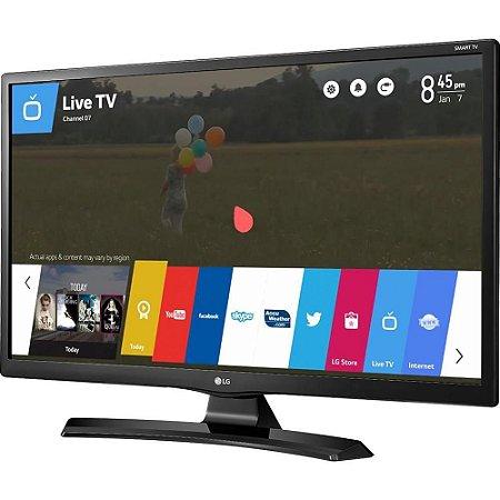 Smart TV LED LG 28 HD 28MT49S-PS Conversor Digital Wi-Fi integrado USB HDMI WebOS 3.5 Screen Share
