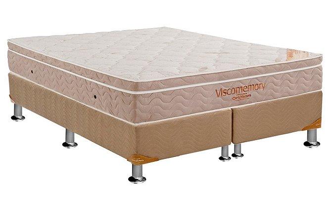 CAMA BOX ORTOBOM VISCOMEMORY 1,93X28