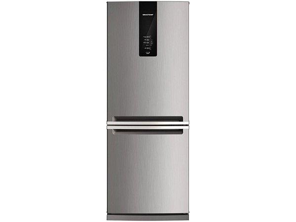 Refrigerador Brastemp Frost Free Freezer inverse 443L Platinum BRE57- 220V