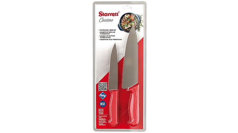 """Kit """"Red Cuisine"""" STARRETT - 2 itens"""
