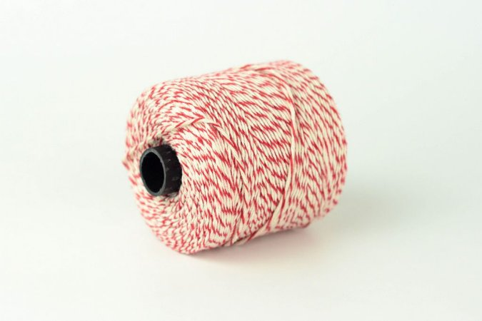 Barbante de algodão para linguiças