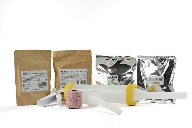 Kit Para Linguiça Artesanal CAVA com Ensacador Manual (consulte composição do kit na descrição do produto)