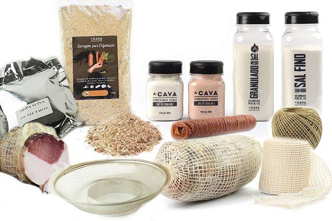Kit Básico CAVA #12 (composição do kit e relação dos 11 itens na descrição do produto)