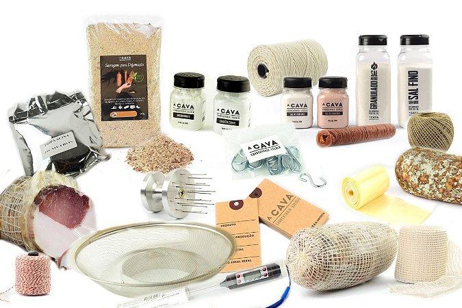 Kit Completo Especial CAVA #12 (composição do kit e relação dos 20 itens na descrição do produto)