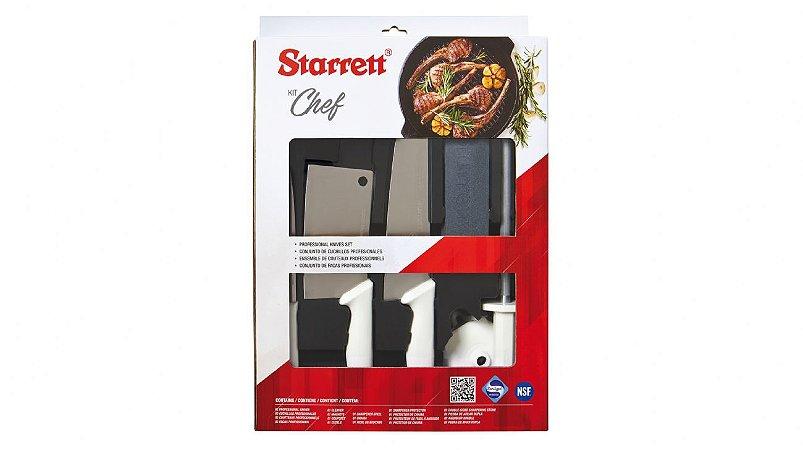 "Kit ""Chef"" STARRETT - 6 itens"