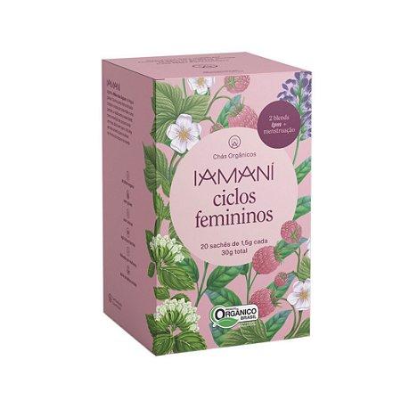 Chá Funcional Orgânico Ciclos Femininos (TPM + Menstruação) - Iamaní