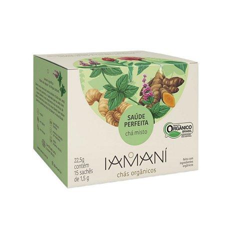 Chá Funcional Orgânico Saúde Perfeita - Iamaní