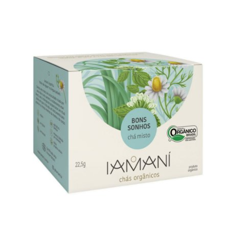 Chá Funcional Orgânico Bons Sonhos - Iamaní