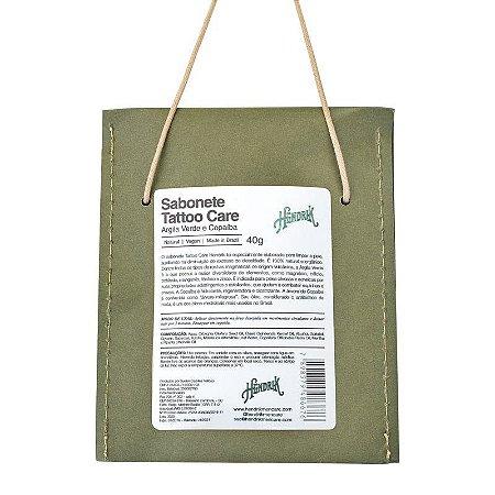 Sabonete Tattoo Care Argila Verde e Copaíba 40g - Hendrik