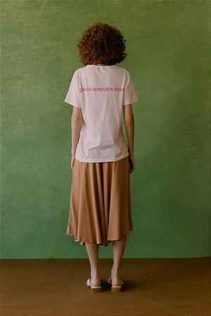 T-shirt Comigo Ninguém Pode - Jouer Couture