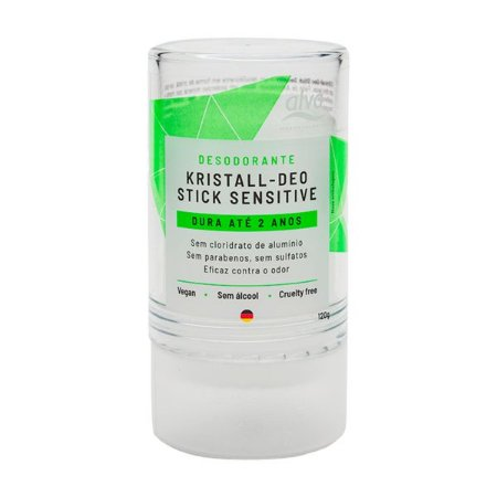 Desodorante Stick Kristall Sensitive 120g - Alva