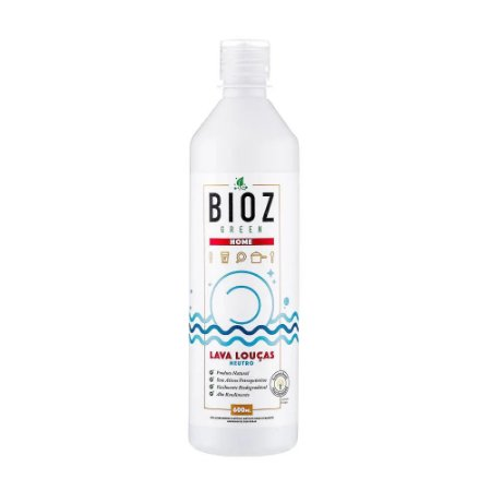 Detergente Neutro 600ml - BIOZ Green