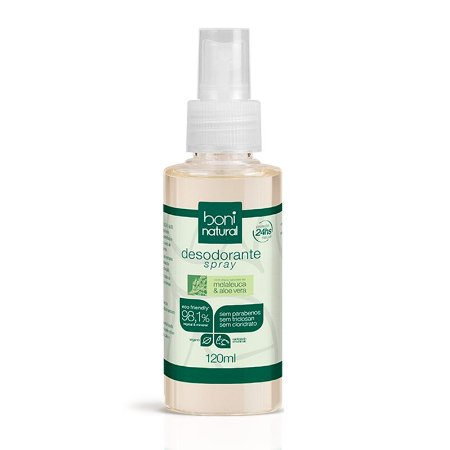 Desodorante Spray Melaleuca & Toranja 120ml - Boni Natural