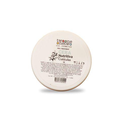Cera Nutritiva Unhas e Cutículas 4g - Twoone Onetwo