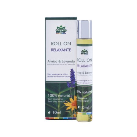 Roll On de Massagem Relaxante Lavanda e Arnica 10ml - WNF