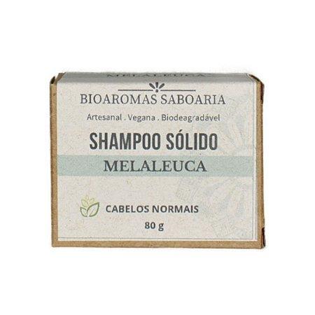 Shampoo Sólido Melaleuca 80g - BioAromas
