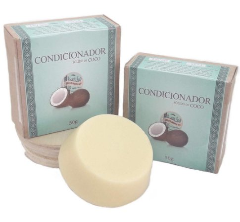 Condicionador Sólido de Coco 50g - BioAromas