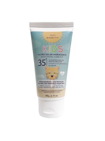 Filtro Solar Hidratante FPS 35 Kids 60g - Biozenthi