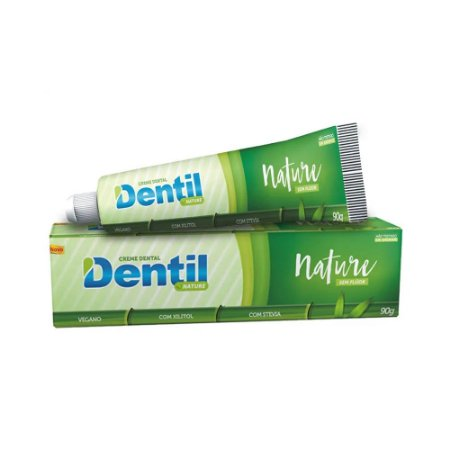 Creme Dental Vegano Com Stevia 90g - Dentil Nature