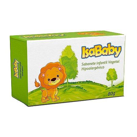 Sabonete Infantil Vegetal 80g - IsaBaby