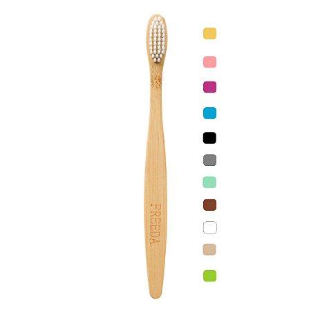 Escova Dental de Bambu Simples - Freeda