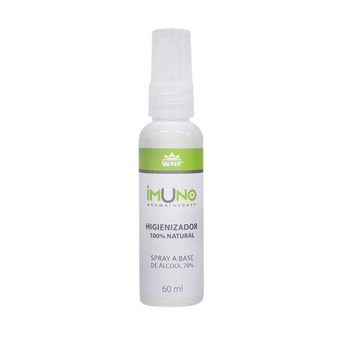Imuno Spray Higienizador 100% Natural com Álcool 70° - WNF