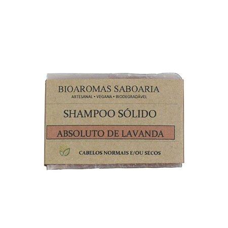 Shampoo Sólido Absoluto de Lavanda 80g - BioAromas