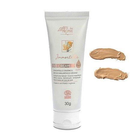 BB Cream Immortelle Com Ácido Hialurônico Orgânico 30g - Arte dos Aromas