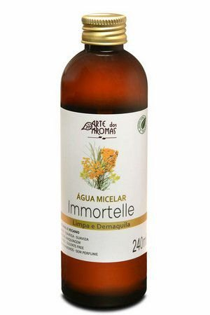 Água Micelar Immortelle 240ml - Arte dos Aromas