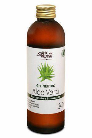Gel Neutro Aloe Vera 240ml - Arte dos Aromas