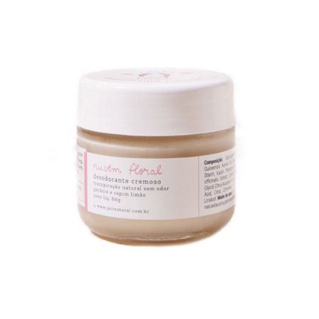 Desodorante Cremoso Nuvem  Floral 30g - Jaci Natural