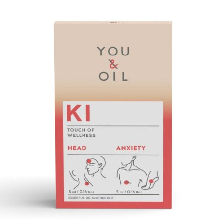 Kit Óleos Essenciais KI Ansiedade + Dor de Cabeça - You & Oil