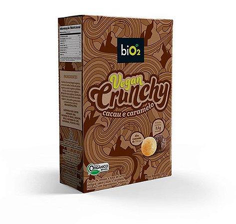 Vegan Crunchy Cacau e Caramelo 200g - biO2