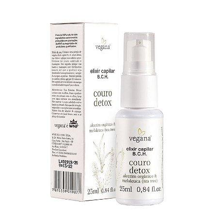 Elixir Capilar Couro Detox 25ml - Vegana WNF