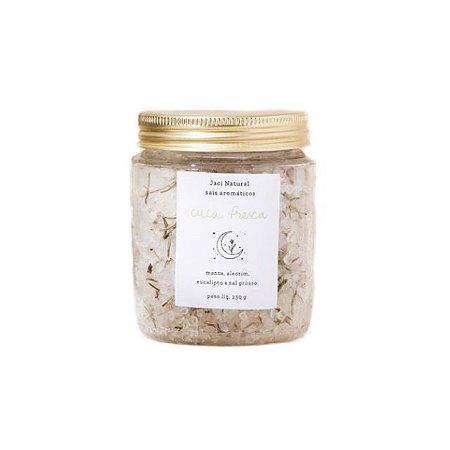 Sais Aromáticos Cuca Fresca (Alecrim, Menta, Eucalipto e Sal Grosso) 230g - Jaci Natural