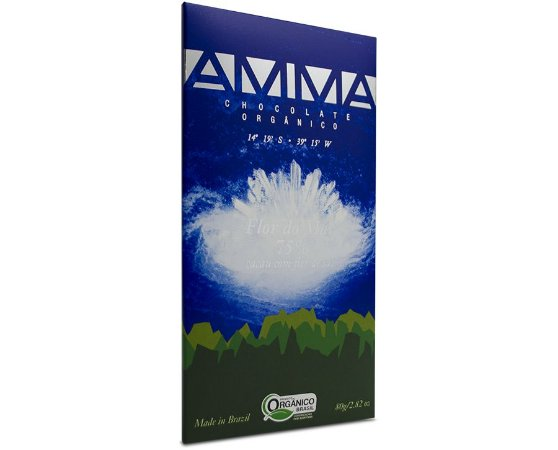 Chocolate AMMA - Flor do Mar - 75% Cacau