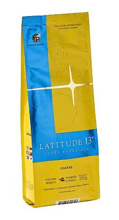 Café Latitude - Moído - Castas 250 g
