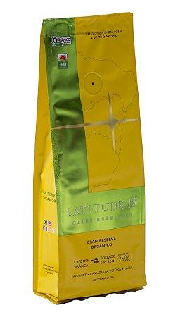 Café Latitude - Moído - Gran Reserva Orgânico 250 g