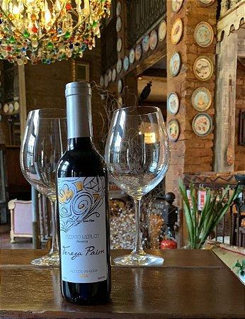 Vinho Tinto - Merlot de Tereza - Pizzato - Denominaçao de Origem Vale dos Vinhedos - 375ml