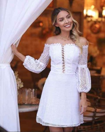 a26f79c6e7 Vestido curto renda - closetdamay loja de vestidos