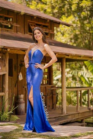 Vestido De Festa Tomara Que Caia Decote Com Tule Madrinha De Casamento Formatura