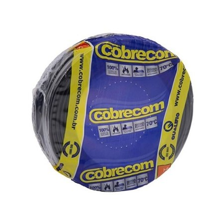 Rl Fio Flex 4,0Mm Pt Cobrecom
