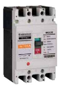 Disjuntor Caixa Moldada 3X125A  25Ka | Eletromec