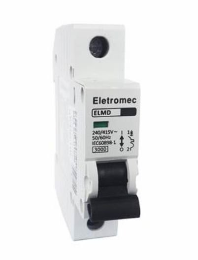 DISJUNTOR CURVA C 1X70A 3KA | ELETROMEC