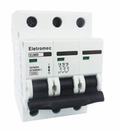 DISJUNTOR CURVA C 3X20A 3KA | ELETROMEC